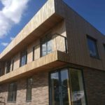 Larch-cladding in Suffolk