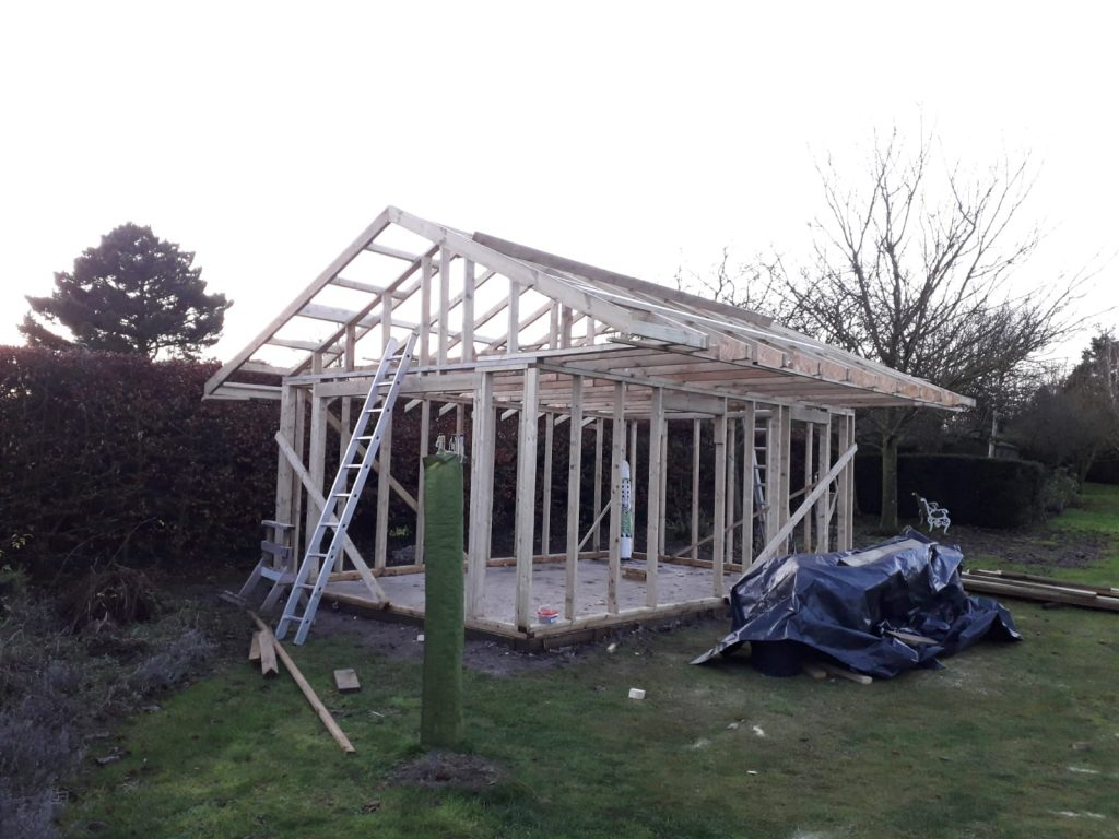 Timber frame Garden room